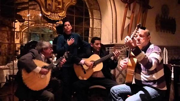 An evening with Fado (traditional music)