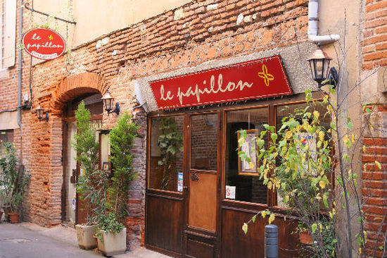 Dinner at Le Papillon