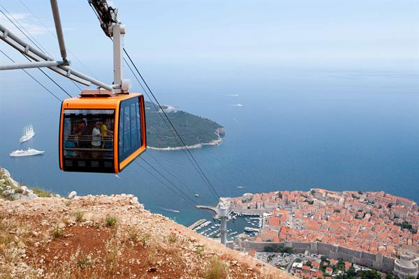 Cable Car from Dubrovnik to Srd Mountain