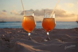 Cocktails on Copacabana Beach