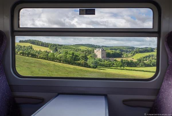 Train Ticket to Edinburgh Scotland