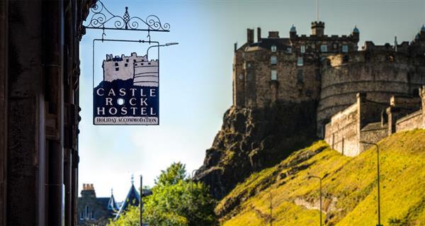 Two Nights in Castle Rock Hostel Edinburgh Scotland PLUS Breakfasts