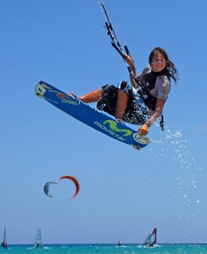 Kite-surfing course