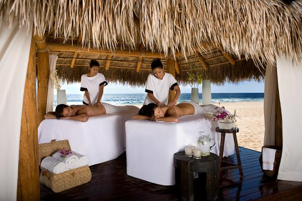 Massage on the beach - for him