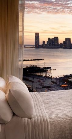 Accommodation: a night in a swanky NYC hotel