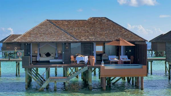 Overwater Villa at Mirihi Resort