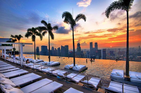 Hotel upgrade at Marina Bay Sands