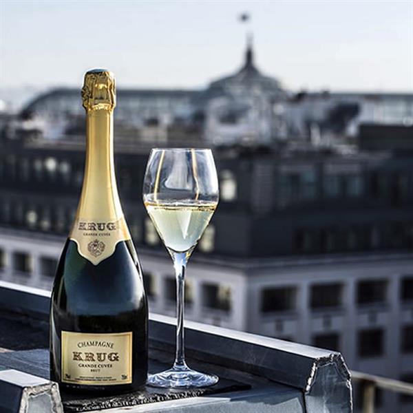 Champagne Dinner in Paris