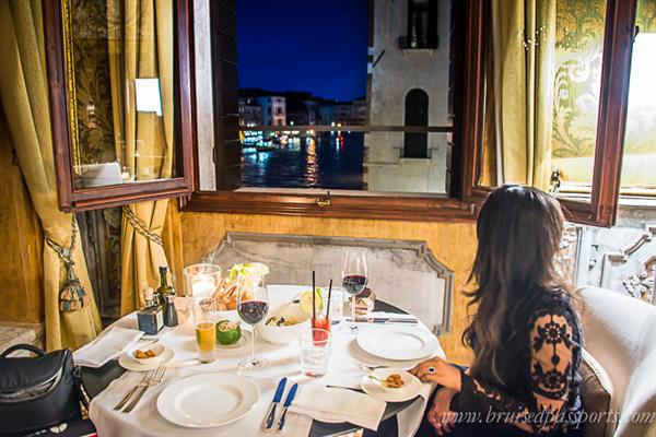 An Indulgent Meal at Aman Canal  Grande