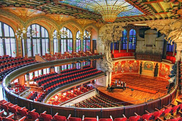 A Performace at the Palau de la Música Catalana