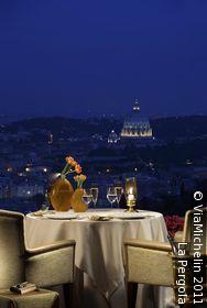 Dine at the famous La Pergola