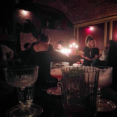 Cocktails at Rasputin