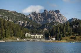 Accommodation at Grand Hotel Misurina