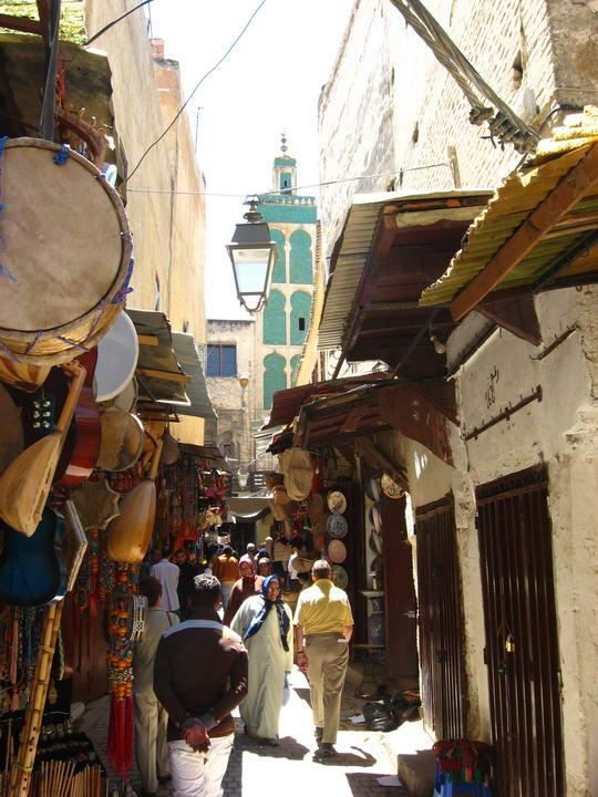 Get lost in the Fez medina