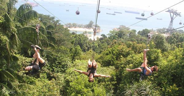 Mega Zip - Sentosa Island