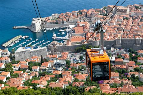 Cable Car Ride in Dubrovnik