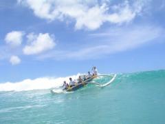 Waikiki Beach Outrigger Canoe Ride