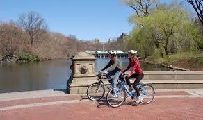 Hire a bike - Central Park