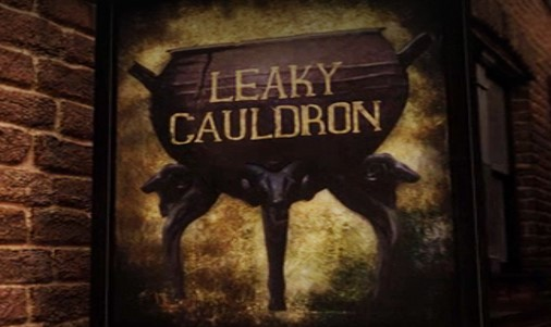 Lunch at the Leaky Cauldron