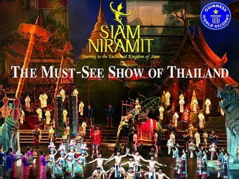 Siam Niramit theatre and dinner