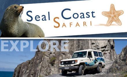 Seal Coast Safari 4WD Tour for 2