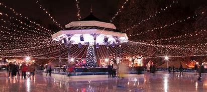 UK Largest outdoor Ice Rink & Bar Ice