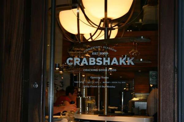 Finnieston Crab Shack Glasgow