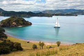 Sailing on Lake Taupo