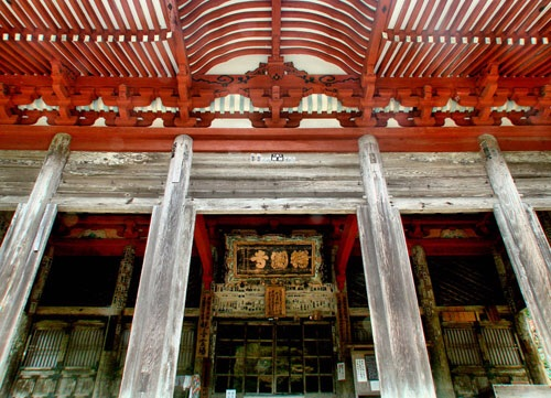 Ancient temple of San'in Region in Shimane