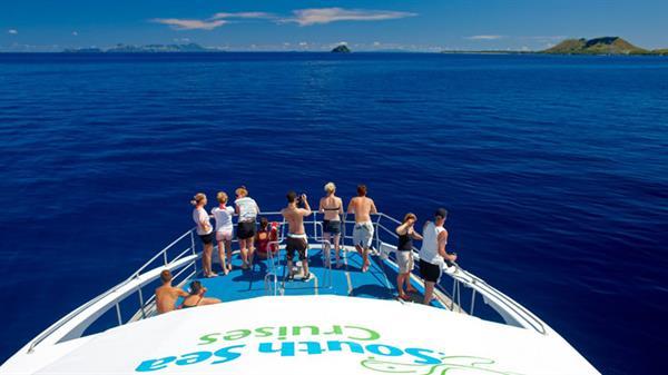 Full day sea island cruise
