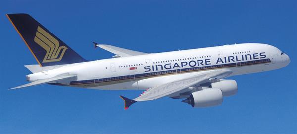 Singapore Airlines international flights