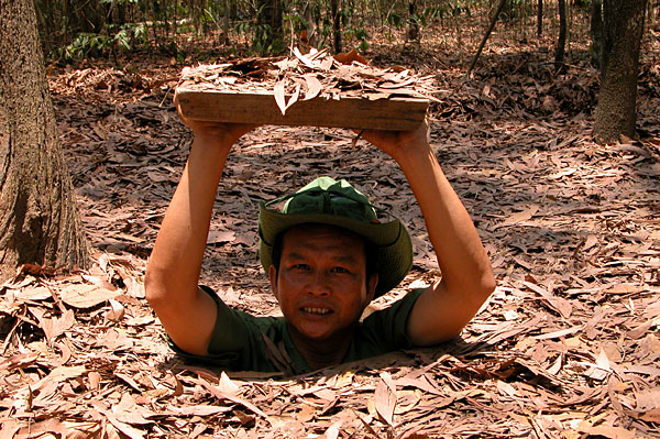 Cu Chi Tunnels half day tour for 2