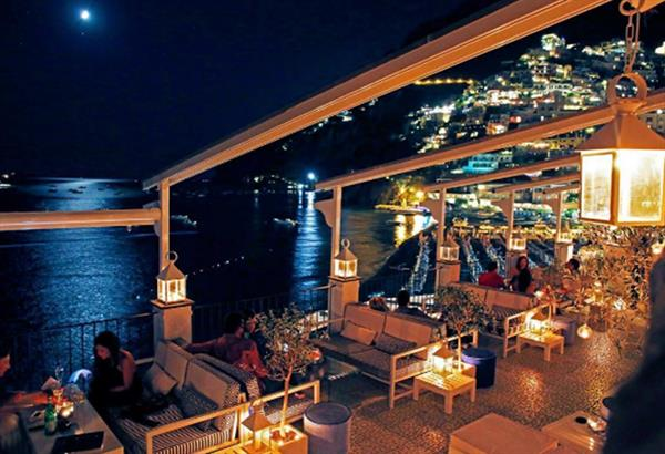 Cocktail Hour in Positano