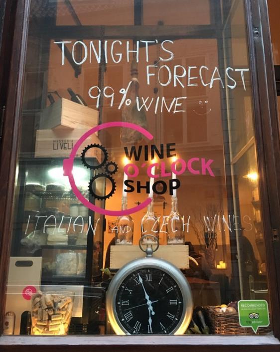 Wine O'Clock in Prague