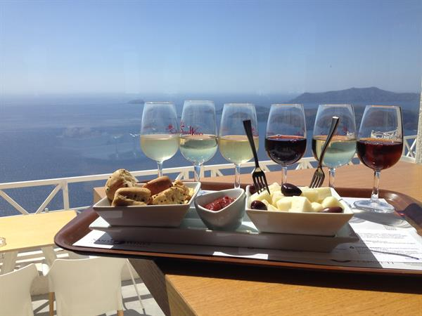 Santorini Wine Tasting & Vineyard Tour