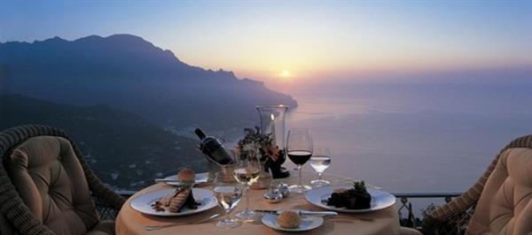 Romantical Dinner in Amalfi