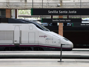 Train: Granada to Seville