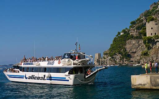 Ferry: Positano to Amalfi