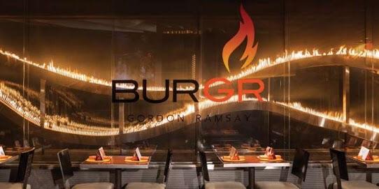 Dinner - Gordon Ramsey Burgr Restaurant