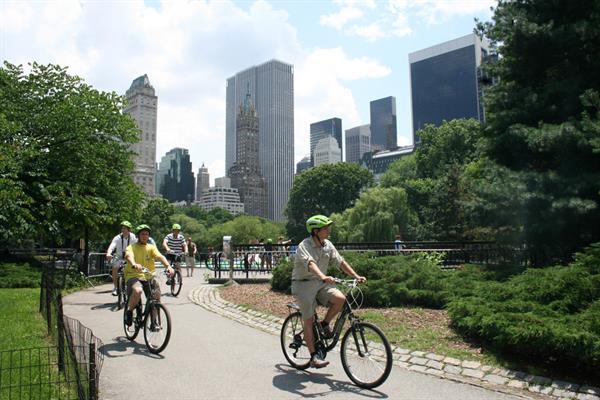 Bike Ride through Central Park