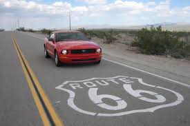Car Hire for a day- Ford Mustang to cruise on route 66