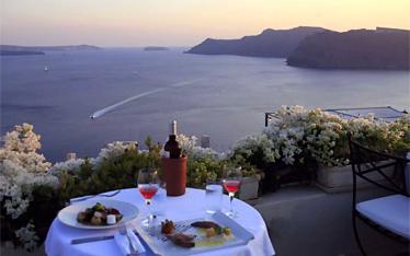 Dinner at Oia '1800' Restaurant