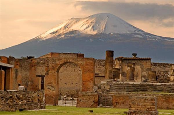Trip to Pompeii