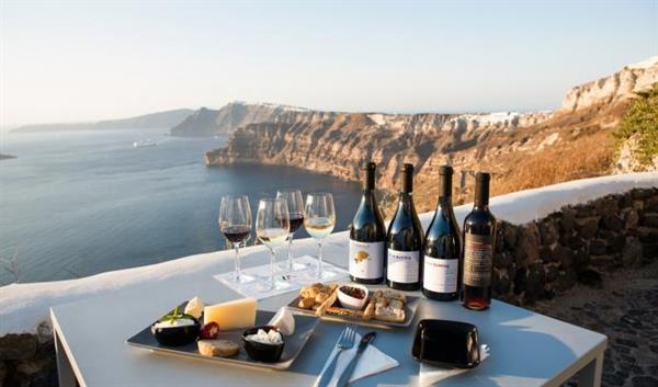 Wine Tasting Tour in Santorini