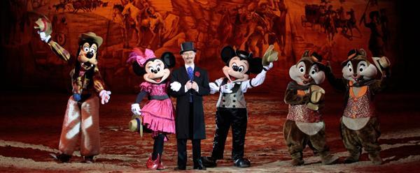 Buffalo Bill's Wild West Show...with Mickey & Friends!
