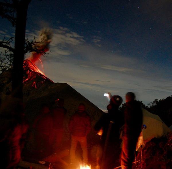 Volcano trek - Acatenango