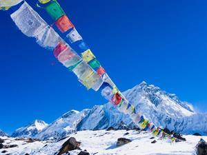Ron & Christina's Ultimate Mountain Adventure - Honeymoon registry Nepal- Mount Everest