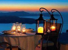 Santorini Dinner