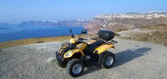 Renting a Quad in Santorini