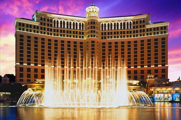 A night at the Bellagio hotel